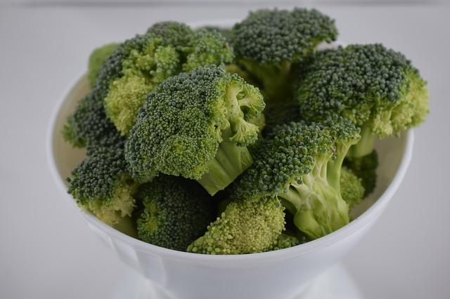 Alergia brócolis