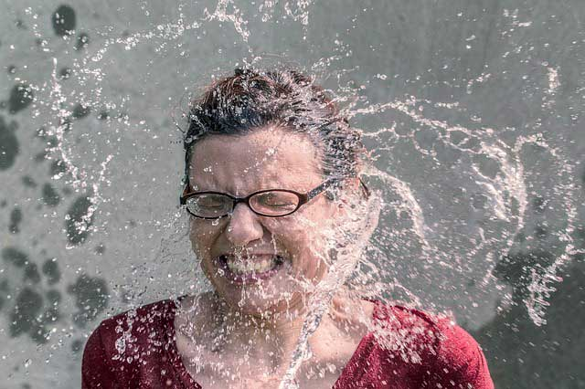 Alergia lavar o rosto