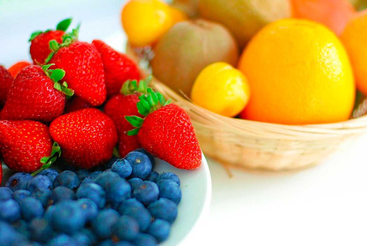 Alimentos Coloridos - O Poder da Dieta Arco Íris