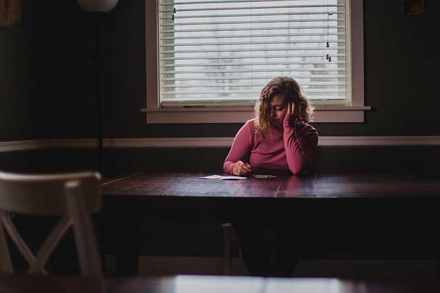 Ansiedade e a mulher da meia idade