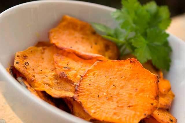 Batata doce frita pode ser uma opção saudável