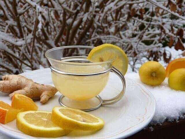 Os benefícios do gengibre para uma tosse