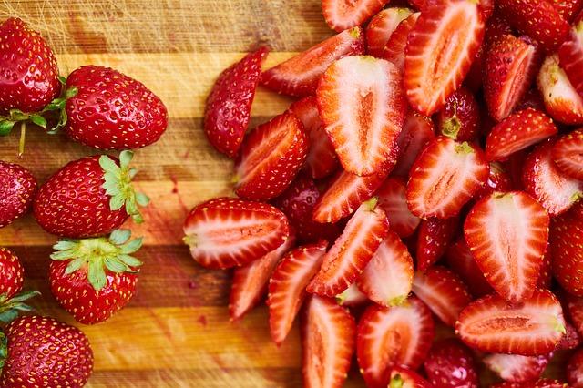 Benefícios dos morangos para a saúde