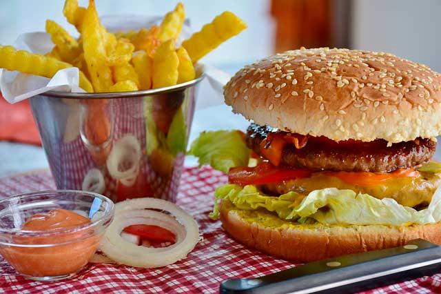 Calorias fast food