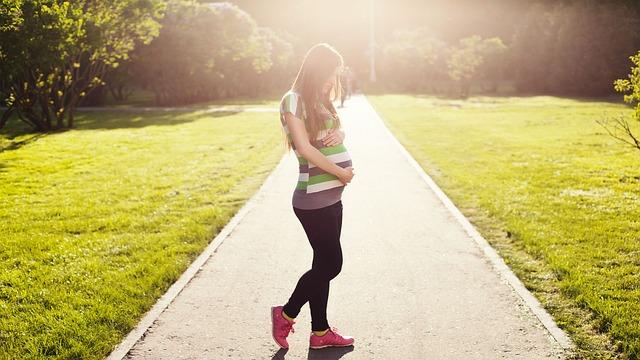 Caminhar durante a gravidez