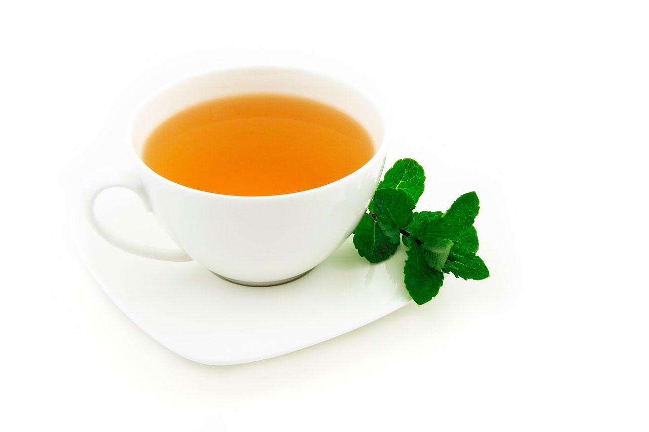 Chá de hortelã | Tratamento para dor de estômago