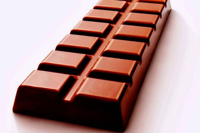Chocolate pode ajudar no rendimento físico