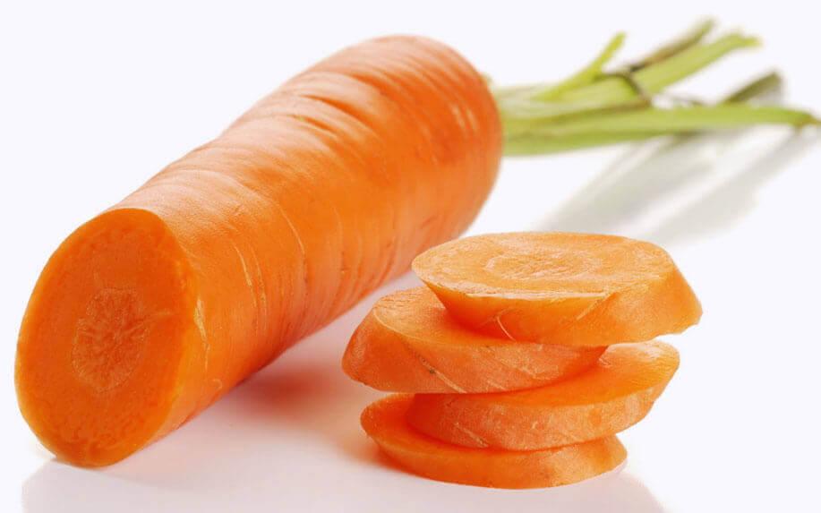 Comer cenoura para uma melhor saúde dos olhos