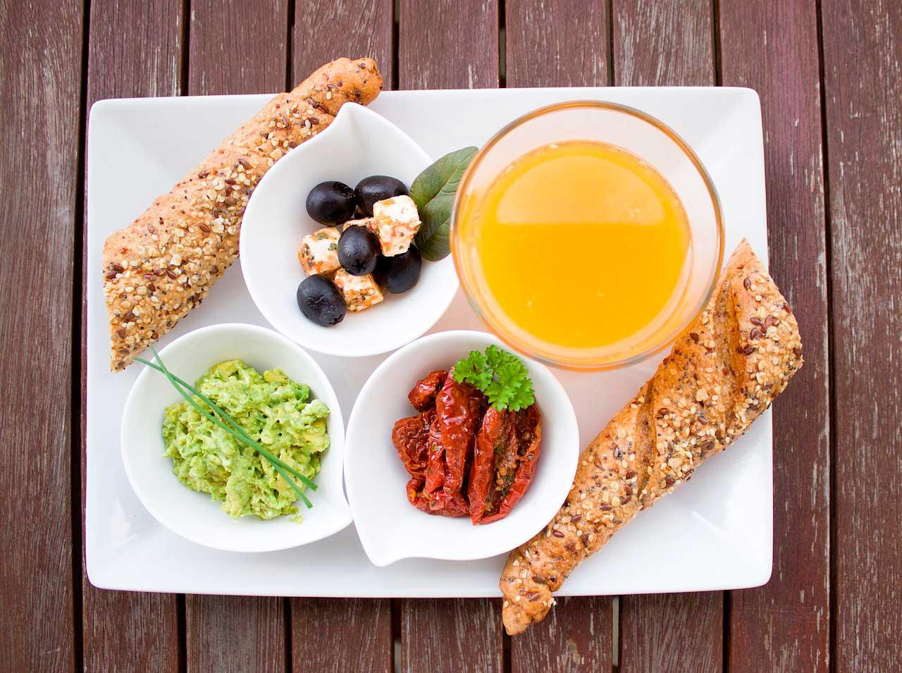 Comida de café da manhã para acelerar o metabolismo