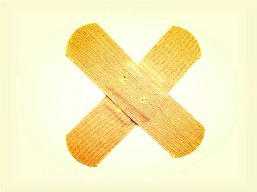 Cortes, Arranhões e Escoriações - como cuidar da ferida?