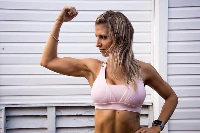 A linha do tempo para o crescimento do músculo