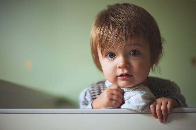 Criança com insônia