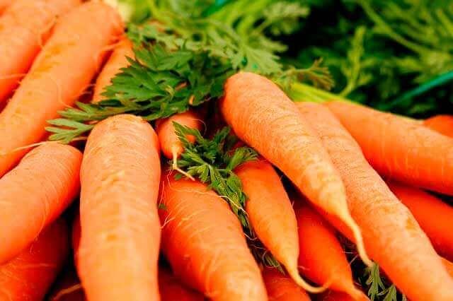 10 razões para comer mais cenouras