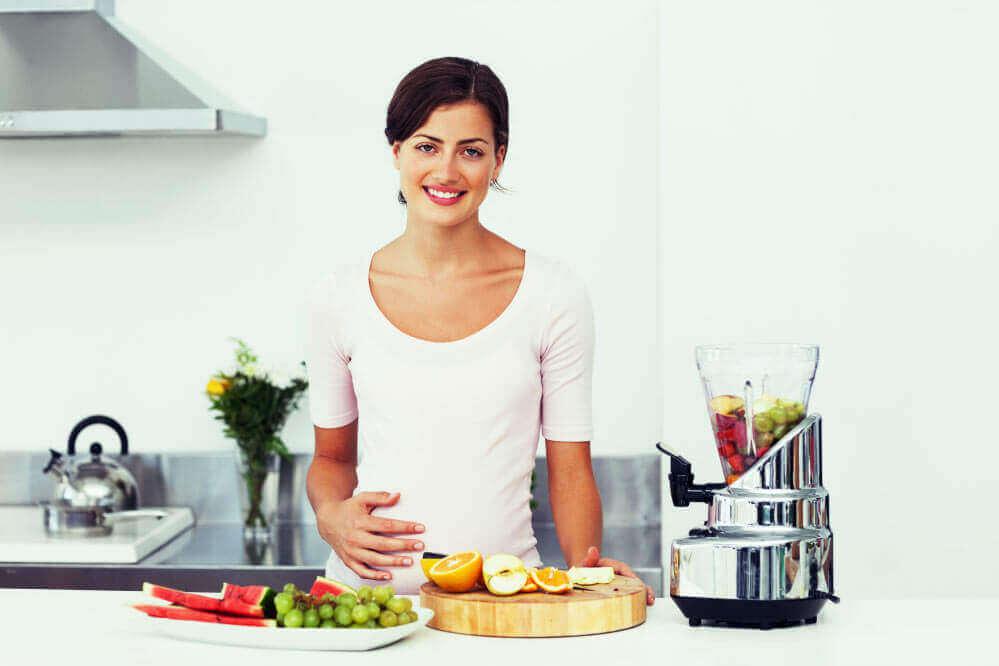 Dieta de alto teor de fibras durante a gravidez contra a asma