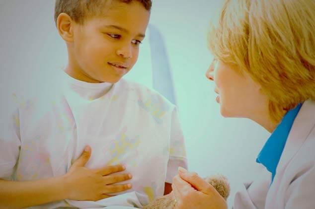 Dor de Barriga em Crianças