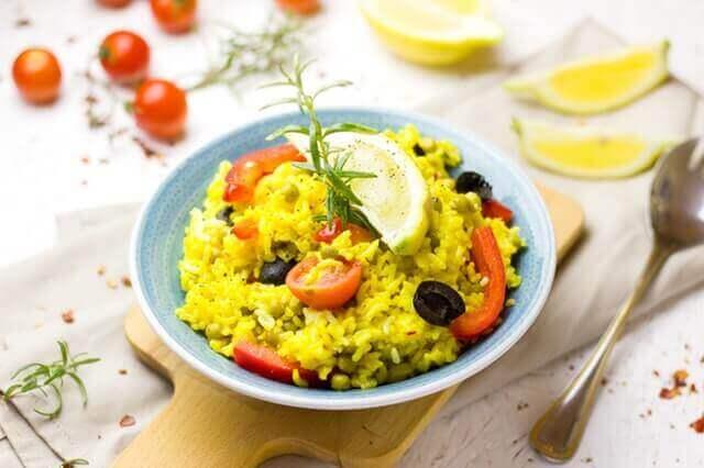 Dor de estômago depois de comer arroz