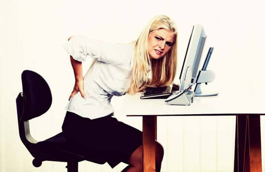 Dor nas costas | 5 tipos de dores nas costas