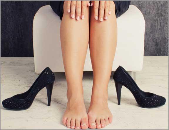 Dor nas pernas ao ficar em pé e sentar