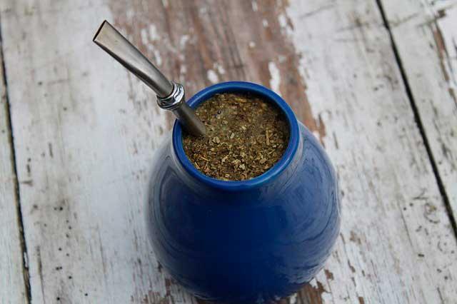 Chá de erva mate para emagrecer