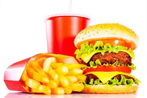 Fique de olho nas calorias de Fast-Food