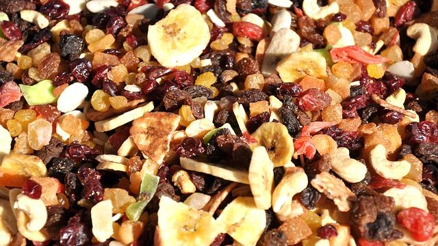 Fruta seca pode machucar meu estômago?