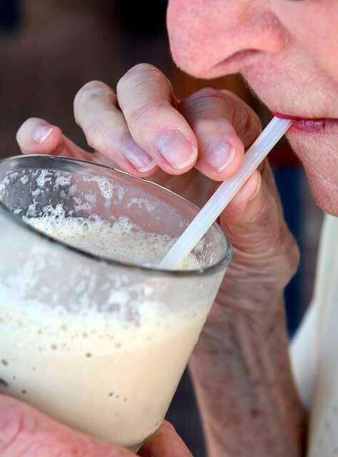 Gastroenterite depois de beber leite