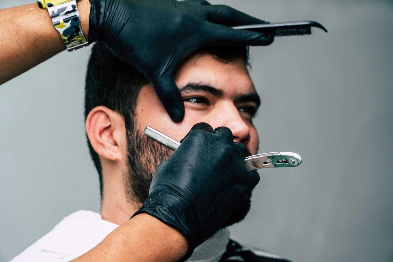 Óleos essenciais para barbear