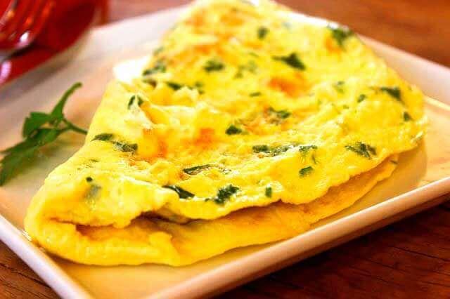 Omelete ajuda emagrecer