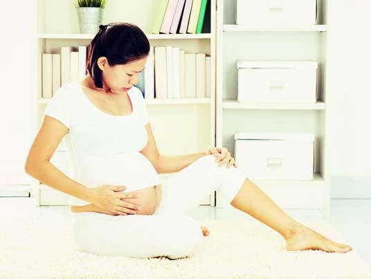 Pé e Tornozelo inchado durante a gravidez