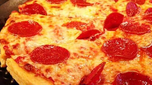 Pizzas Congeladas que foram reprovadas pelo excesso de sal
