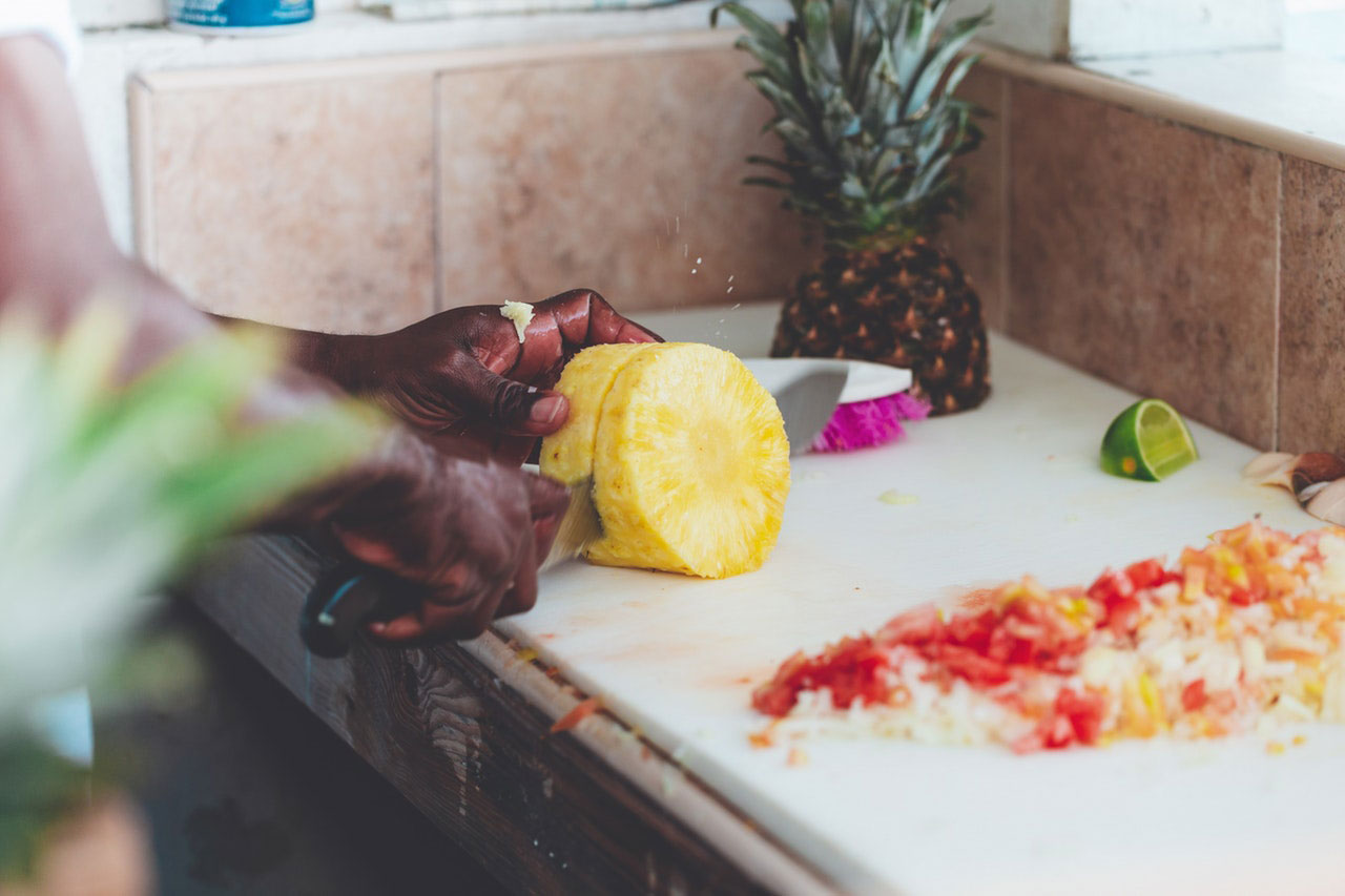 Nutrientes são perdidos no corte de frutas e legumes