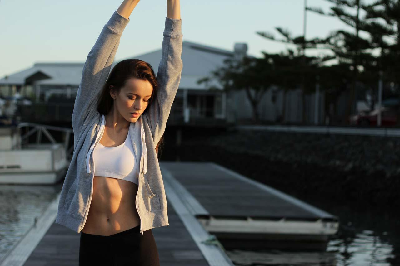 Por que vejo manchas e cores após o exercício?