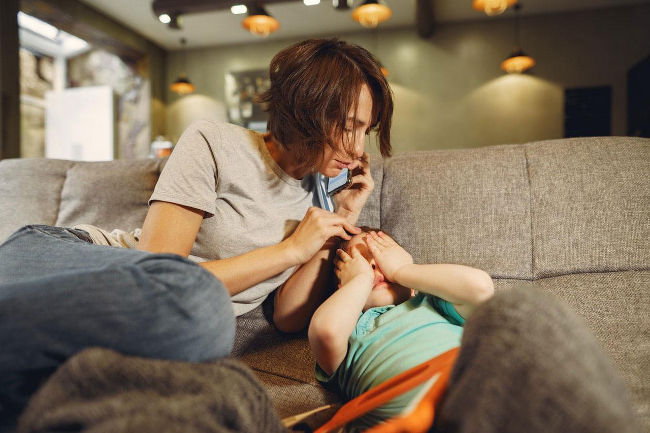 Quando uma dor de garganta é uma infecção mais séria?