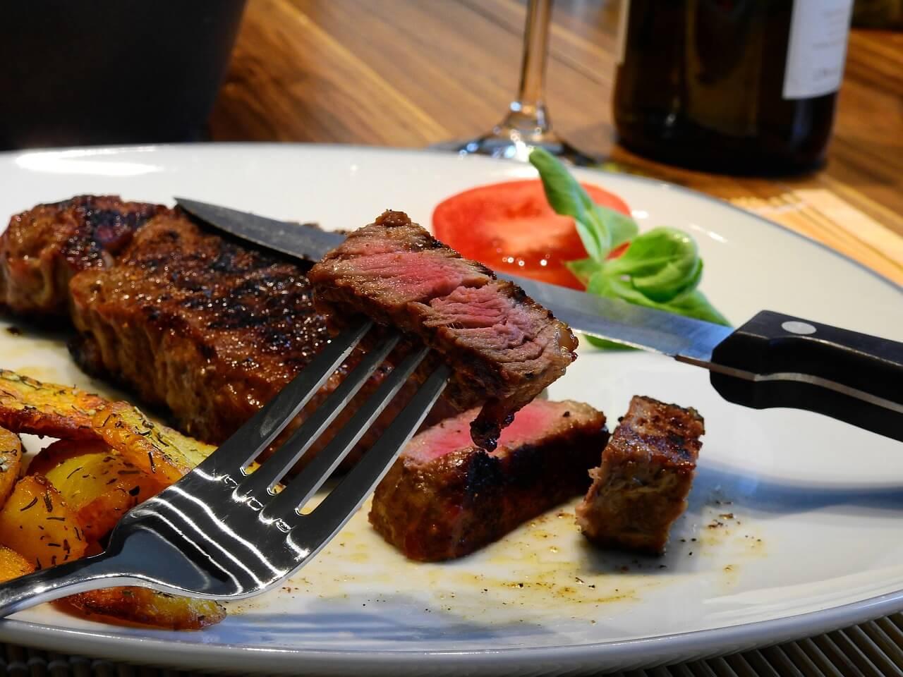 Quanta carne vermelha é OK para comer?