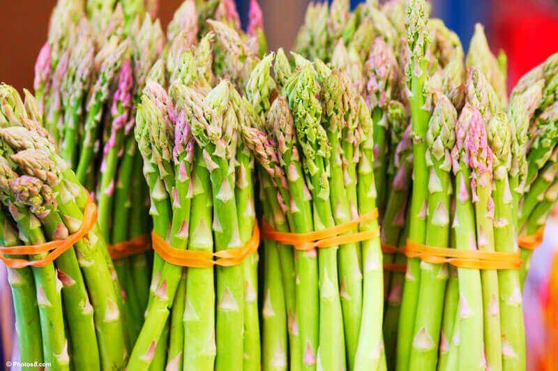 6 Benefícios do aspargo para a saúde