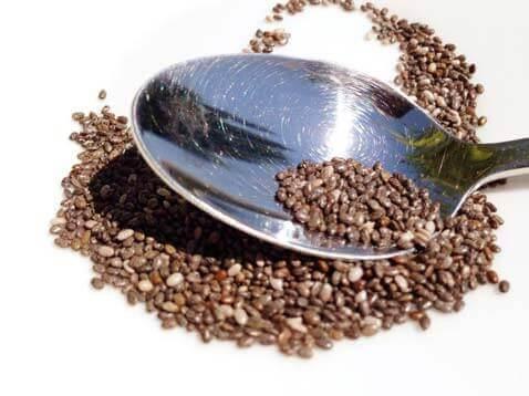 Sementes de Chia são carregadas com antioxidantes