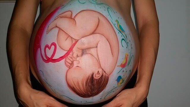Sensação de queimação na área pélvica na gravidez