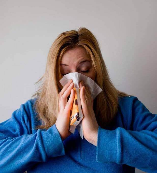 Sinusite provoca dores de cabeça