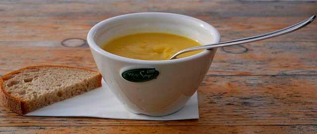 Sopa para dor de estômago