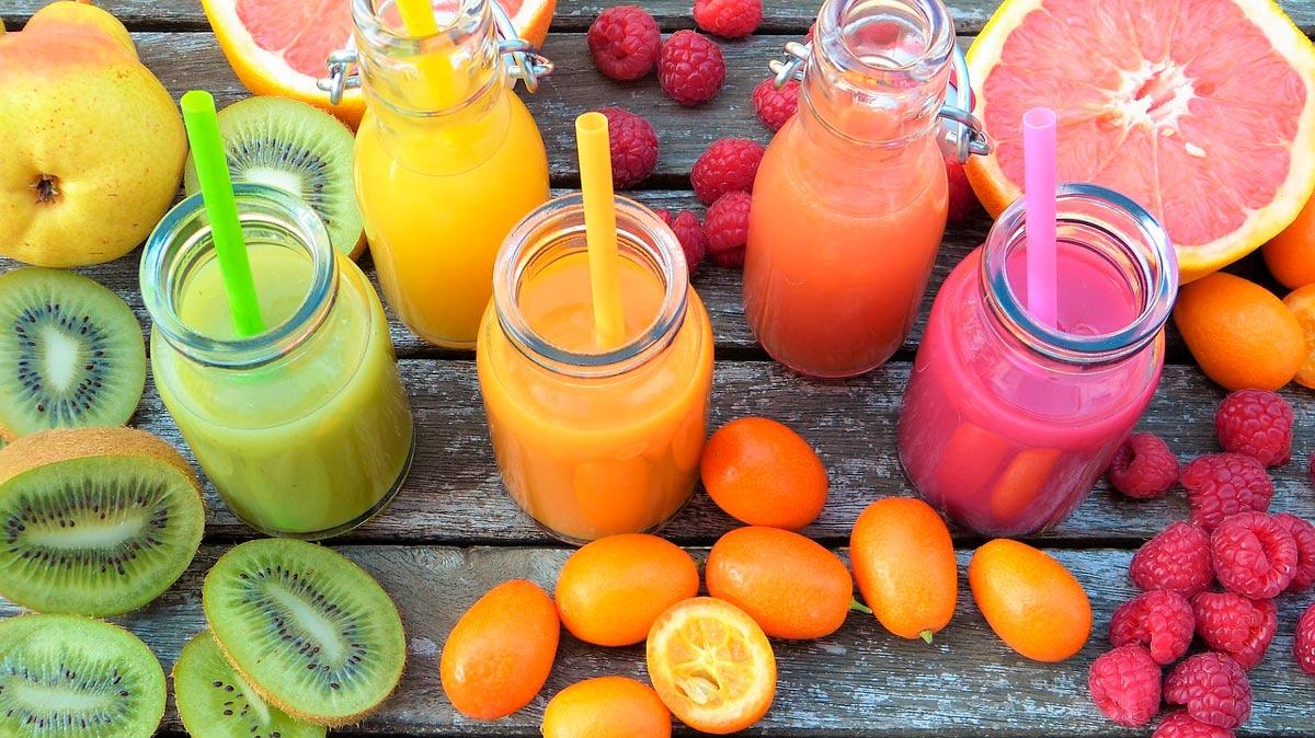 Suco detox para ajudar no processo de desintoxicação natural