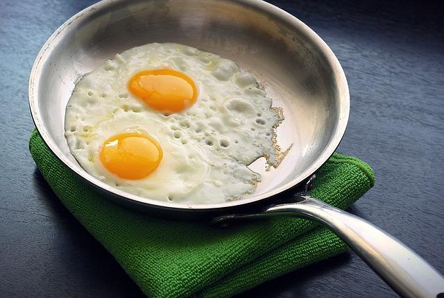 Omelete para pós-treino | Omelete com a clara do ovo